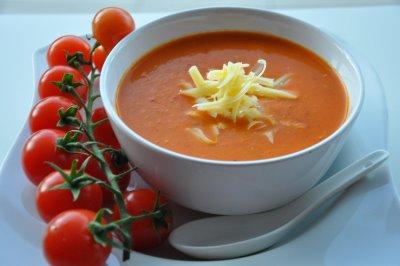 Közlenmiş Domates Çorbası - Tahta Kaşık