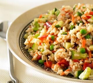 Zencefilli Pirinç Salatası - Tahta Kaşık
