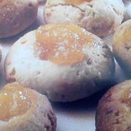 portakal marmelatlı kurabiye